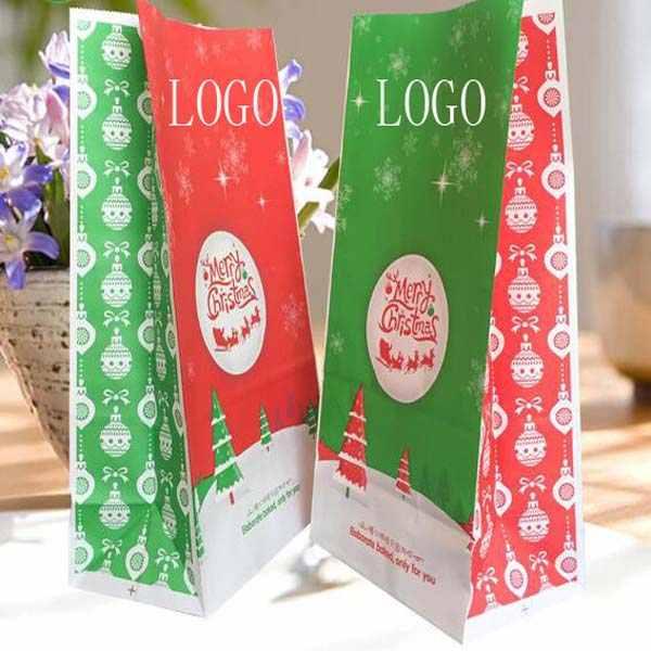 Christmas Gift Kraft Paper Bag