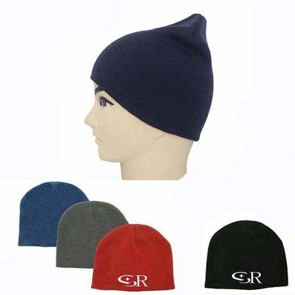 Children Acrylic Custom Knitted Beanie Hat / Caps