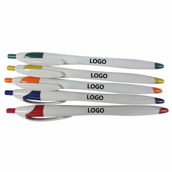Penna promozionale di plastica Tropical sfera