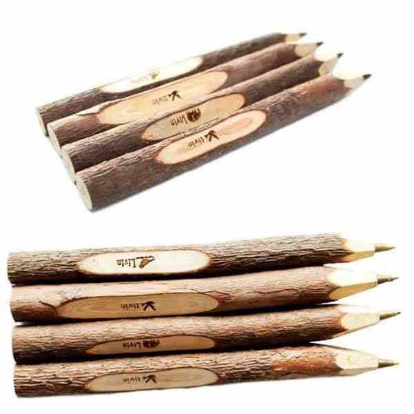 Wooden Tree Twig Ball Pen