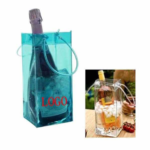 Eco-friendly Limpar PVC Wine Cooler Ice Bag